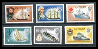 Lot 3477 [1 of 2]:1972 Ships Wmk Upright SG #323-34 set of 12, some hinge rems, Cat £26.