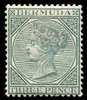Lot 3363:1883-1904 QV Wmk Crown/CA SG #28 3d grey, Cat £23.