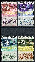 Lot 3277:1971 Antarctic Treaty SG #38-41 set of 4, Cat £27.