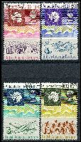 Lot 3556:1971 Antarctic Treaty SG #38-41 set of 4, Cat £27.
