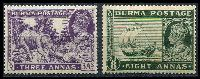 Lot 20648:1938-40 KGVI SG #26,29 3a & 8a (evenly toned), Cat £34.