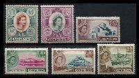 Lot 3366 [2 of 2]:1955-60 Pictorials SG #173-57 complete set of 15, Cat £110.