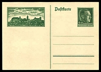 Lot 3786:1938 Reichsparteitag Mi #P272 6+19pf unused