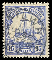 Lot 19405:Kilwa: 'KILWA/DEUTSCH-/[O]STAFRIKA/29.4/09