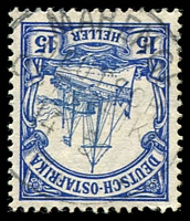 Lot 3812:Mahenge: 'MAHENGE/DEUTSCH-/OSTAFRIKA/14.5/[?]