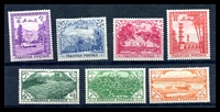 Lot 26372:1954 7th Independence Anniversary SG #65-71 set of 7, Cat £22.
