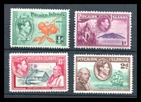 Lot 4333 [2 of 2]:1940-51 Pictorials SG #1-8 set of 10, Cat £75.