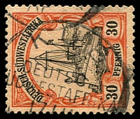 Lot 4452:Kub: 'KUB/DEUTSCH-/[S]ÜDWESTAGFRIKA/17/11/06
