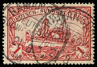 Lot 4453:Ramansdrift: 2 strikes of 'RAMANSDRIFT/DEUTSCH-/SÜDWESTA