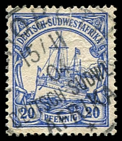 Lot 4454:Rehoboth: '[RE]HOBOTH/15/11/04//DEUTSCH-/SÜDWES[T]