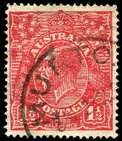 Lot 503:1½d Red Die I BW #90(17)l [17R3] Scratched electro, Cat $90.