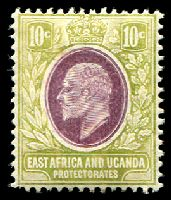 Lot 20623:1907-08 New Currency SG #37 10c lilac & pale olive, Cat £11.