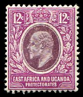Lot 20624:1907-08 New Currency SG #38 12c dull & bright purple, Cat £10.