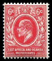 Lot 19202:1910 Redrawn Plate SG #43 6c red, Cat £24.