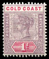Lot 20436:1898-1902 QV SG #27 1d dull mauve & rose.
