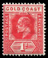 Lot 3653:1907-13 KEVII Wmk Multi Crown/CA SG #60 1d red, Cat £18.