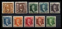 Lot 23597:1931 Issue SG #D93-102 ½a to 2r, Cat £83. (10)