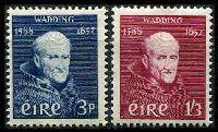 Lot 3832:1957 Father Wadding SG #170-1 set of 2, Cat £17.