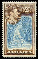 Lot 3857:1938-52 Pictorials SG #131 2/- Bamboo, Cat £35.