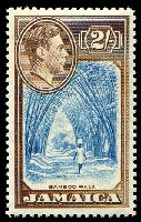 Lot 3856:1938-52 Pictorials SG #131 2/- Bamboo, Cat £35.