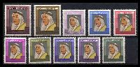 Lot 3780 [1 of 2]:1964 Shaikh Abdullah SG #216-34 complete set of 19, Cat £55.