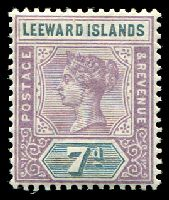 Lot 25250:1890 QV SG #6 7d dull mauve & slate, Cat £11.