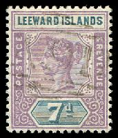 Lot 25251:1890 QV SG #6 7d dull mauve & slate, Cat £20.