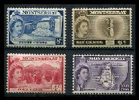 Lot 25003 [2 of 2]:1953-62 QEII Pictorials SG #136a-49 ½c (I), 4c, 6c deep sepia-brown (I), 8c, 12c, 60c, $1.20, $2,40 & $4.80 (I), Cat £74 range. (10)