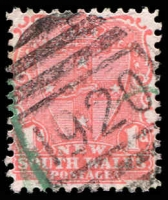 Lot 981:1920: BN on 1d Arms. [Rated 3R]  Allocated to Brookong-PO 1/2/1899; closed 13/11/1915.