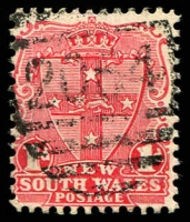 Lot 5611:2064: BN on 1d Arms. [Rated 4R]  Allocated to Cataract-PO 24/11/1902; closed 31/7/1907.