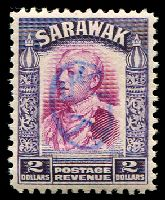 Lot 4342:1942 With Japanese Seal: $2 bright purple & violet, blue seal.