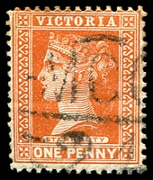 Lot 11055:1224: 'MCC/24' on 1d brown.  Allocated to Miepoll-PO 1/6/1881; closed 30/6/1969.