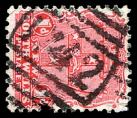 Lot 1143:1742: on 1d Arms.  Allocated to Mount Drysdale-PO 1/1/1895; closed 8/2/1942.