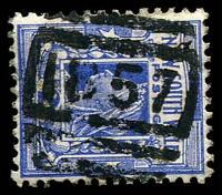 Lot 980:1857: BN on 2d blue.  Allocated to Rockvale-PO 15/11/1897; TO 1/7/1964; closed 19/5/1967.