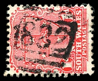 Lot 954:882: BN on 1d Arms. [Rated SS]  Allocated to Colombo Creek-PO 1/5/1877; renamed Murundah PO 16/12/1889; renamed Morundah PO 26/8/1895; closed 31/5/1982.