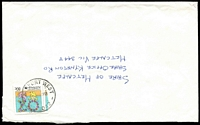 Lot 2288:Airport West (2): - WWW #40 33mm 'AIRPORT WEST/19FEB1991/VIC. 3042' on 80c on cover.  PO 22/11/1982; LPO 26/10/1993.