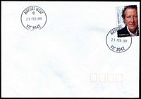 Lot 11273:Airport West (2): - WWW #100 29mm 'AIRPORT WEST/C/25FEB2011/VIC 3042' on 55c on unaddressed cover.  PO 22/11/1982; LPO 26/10/1993.