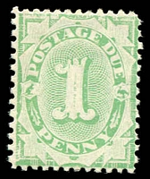 Lot 822:1902-04 Design Completed Wmk Crown/NSW BW #D16 1d emerald P11½-12x11, Cat $15.