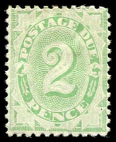 Lot 381:1902-04 Design Completed Wmk Crown/NSW BW #D20a 2d emerald P11x11½-12 Wmk Upright, Cat $120.