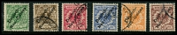 Lot 4428:1897-99 Overprint Mi #1-6 set, all ex 50pf, with recognisable pmks, Cat €150 (6)