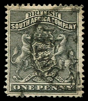 Lot 27047:1892-93 Arms Perf 14,14½ SG #1 1d black.