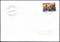 Lot 2168:Anakie: - WWW #90 29½mm 'ANAKIE/30MAY2014/VIC 3213' on 70c on cover.  PO 15/10/1858; LPO 15/10/1993.
