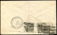 Lot 2459 [2 of 2]:Apollo Bay: - WWW #20A 'APOLLO BAY/5JA54/VIC' arrival on cover from Colac, boxed 'UNCLAIMED AT/APOLLO BAY' (A1) on face  Renamed from Krambruk PO 2/5/1898; LPO 28/7/1995.