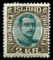 Lot 3970 [1 of 2]:1920-22 Christian X SG #116-36 range 1920 1e, 3a, 4a, 6a, 15a, 50a, 1k, 2k & 5k, 1922 complete new colours, Cat £775, plus 1907 15a & 1928 10a Air. Ex UPU distribution. (16)