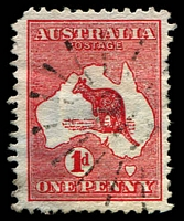 Lot 1026:217: Rays (3a) on 1d Roo.  Allocated to Majors Creek-PO 1/4/1858; closed 12/12/1980.