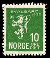 Lot 4277 [4 of 4]:1925 Annexation of Spitzbergen SG #183-6 complete set, Cat £24. Ex UPU distribution. (4)