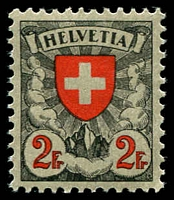 Lot 4473 [1 of 4]:1924 Shield & Value in Red Granite Paper SG #329-32 original set, Cat £140. Ex UPU distribution. (4)