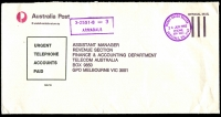 Lot 2510:Armadale: - WWW #530 'MONEY ORDER TELLER/24JUN1983/ARMADALE, VIC. 3143' on stampless APO cover. [Rated 3R]