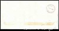 Lot 12998 [1 of 2]:Avondale Heights: - 32mm 'AVONDALE HTS./(2)/1SEP1988/VIC. 3034' WWW #240 backstamp on unclaimed cover  PO 9/12/1957; LPO 14/7/1997.