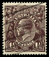 Lot 147:1½d Black-Brown Die I - [1L60] Spot in BRC of RVT